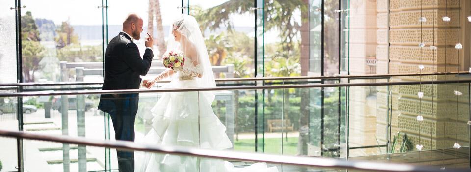 Kempinski Palace Portoroz wedding: Sasha + Igor, Russian wedding